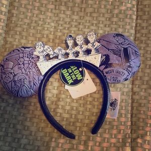 NWT Haunted Mansion Graveyard Ears Headband